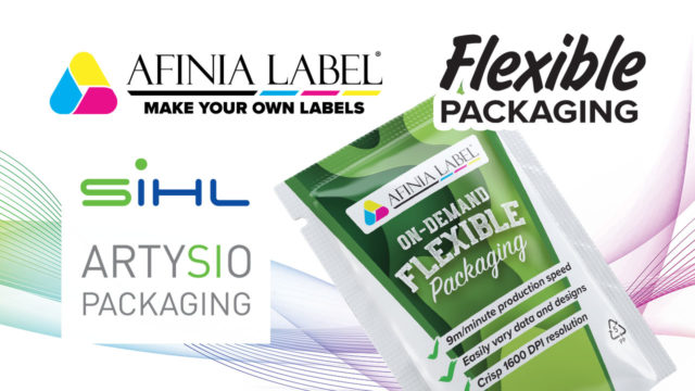 Afinia Label Sihl ARTYSIO flexible packaging material inkjet