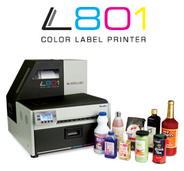 L801 Industrial Color Label Printer