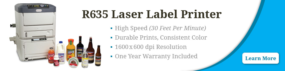 R635 Laser Label Printer