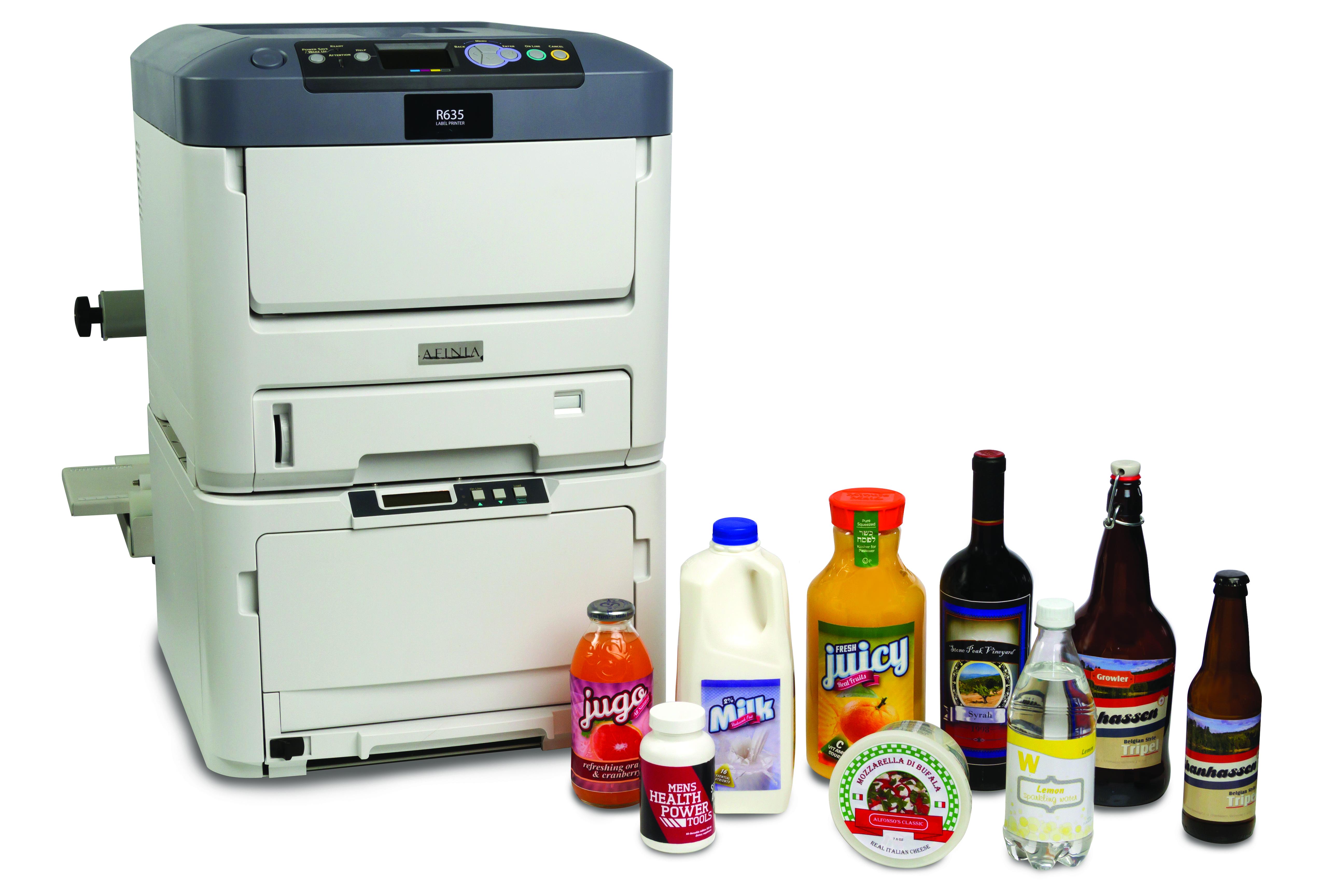Color printer label - The Afinia Label R635 Printer