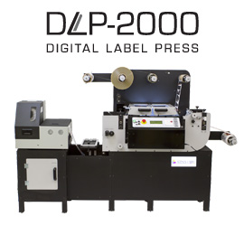 Afinia DLP-2000 Digital Label Press High Speed Label Finishing System
