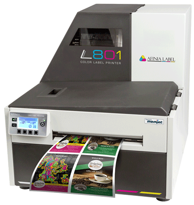 Afinia Label L801 for Digital Label Printing