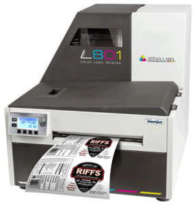 Afinia Label L801 Prints food Labels - Memjet Technology