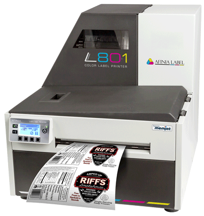 Variable data printing with L801