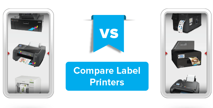 Compare digital label printers - Afinia Label