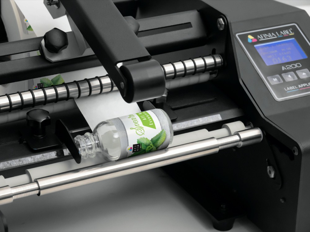 A200 small bottles Label Applicator from Afinia Label