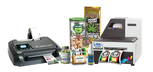 Cannabis Label Printers » Afinia Label - Make Your Own