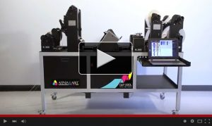 Afinia Label DLF-220L Digital Label Finisher video