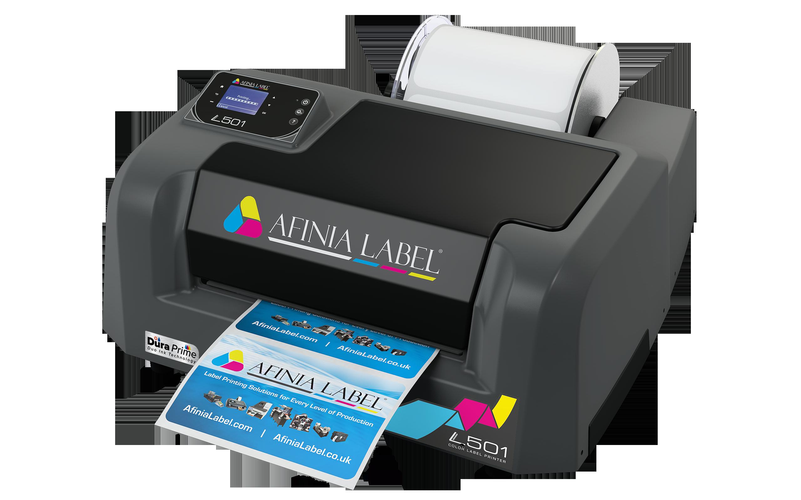 Afinia Label L501 Digital Color Desktop Label Printer