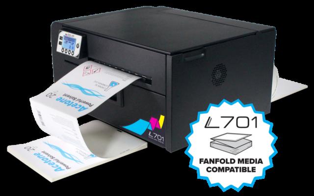 Afinia Label L701 Digital Color Fanfold Label Printer