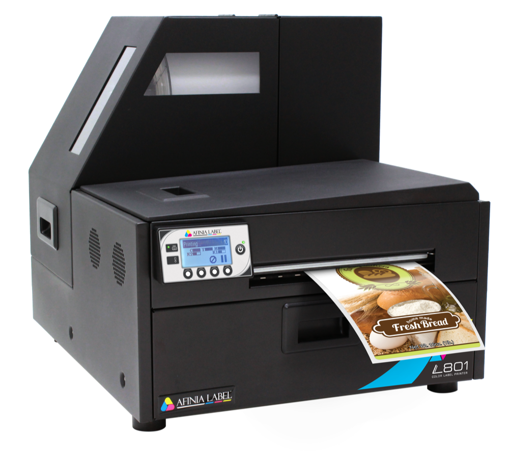 Afinia Label L801 Desktop Color Label Printer for Commercial and Industrial Use