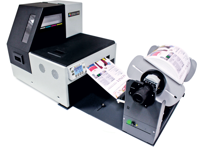 Afinia Label L801 Color Label Printer with Rewinder
