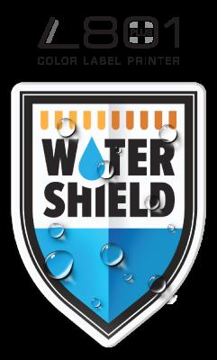 La L801 Plus con Tecnología Watershield y tintas resistentes al agua