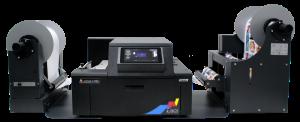 L901 Colour Label Printer with XL unwinder/rewinder