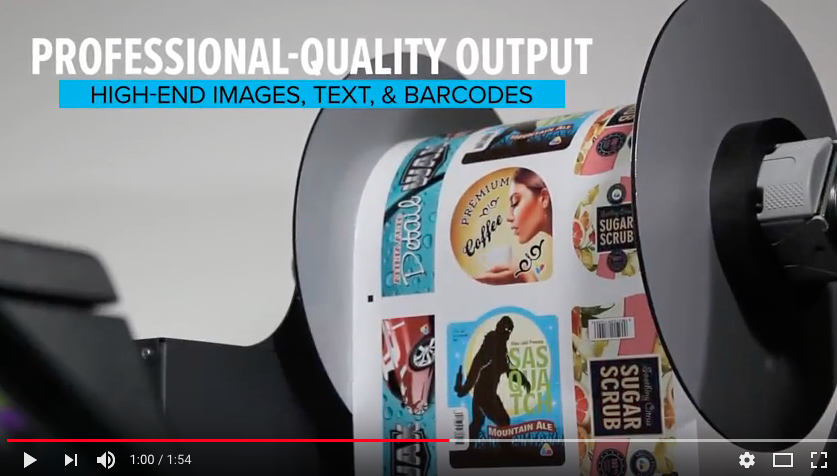 L901 Color Label Printer from Afinia Label - Video Overview
