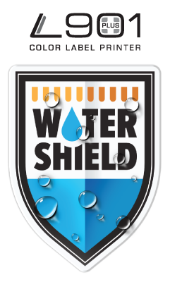 Watershield™ Water Resistant Inkjet Label technology from Afinia Label