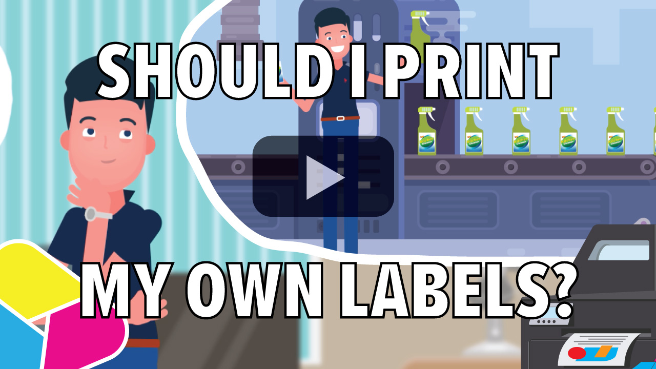 Should I print my own labels?
