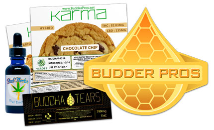 Marijuana Labels: Budder Pros Infused Edibles Labels