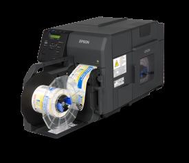 Afinia Label Epson ColorWorks C7500 Inkjet Label Printer with Rewinder