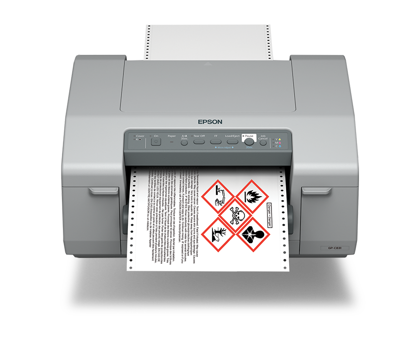 Afinia Label Epson ColorWorks C831 Inkjet Label Printer
