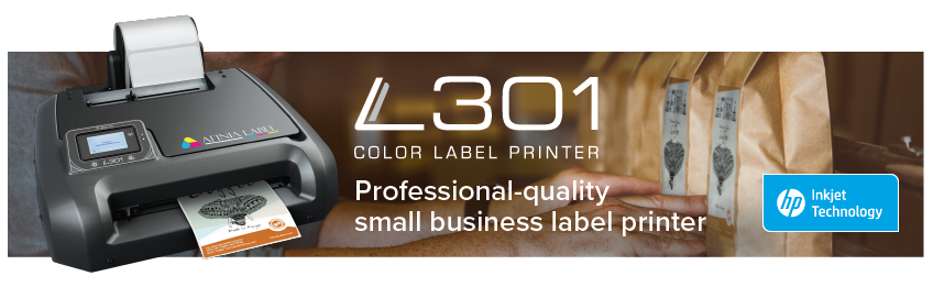 L301 Color Label printer from Afinia Label - Professional-quality small business label printer
