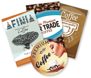 Coffee Labels - Afinia Label Coffee Case Study