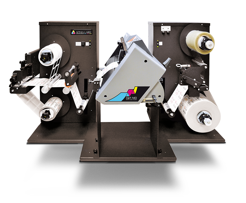 DLF-140S Plotter-Style Tabletop Digital Label Finisher from Afinia Label
