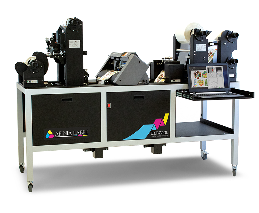 DLF-220L Digital Label Finisher from Afinia Label
