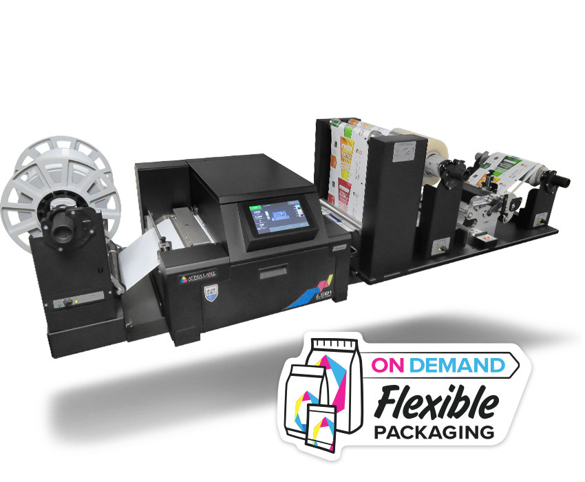Afinia Label on demand flexible packaging FP-230 flex pack press