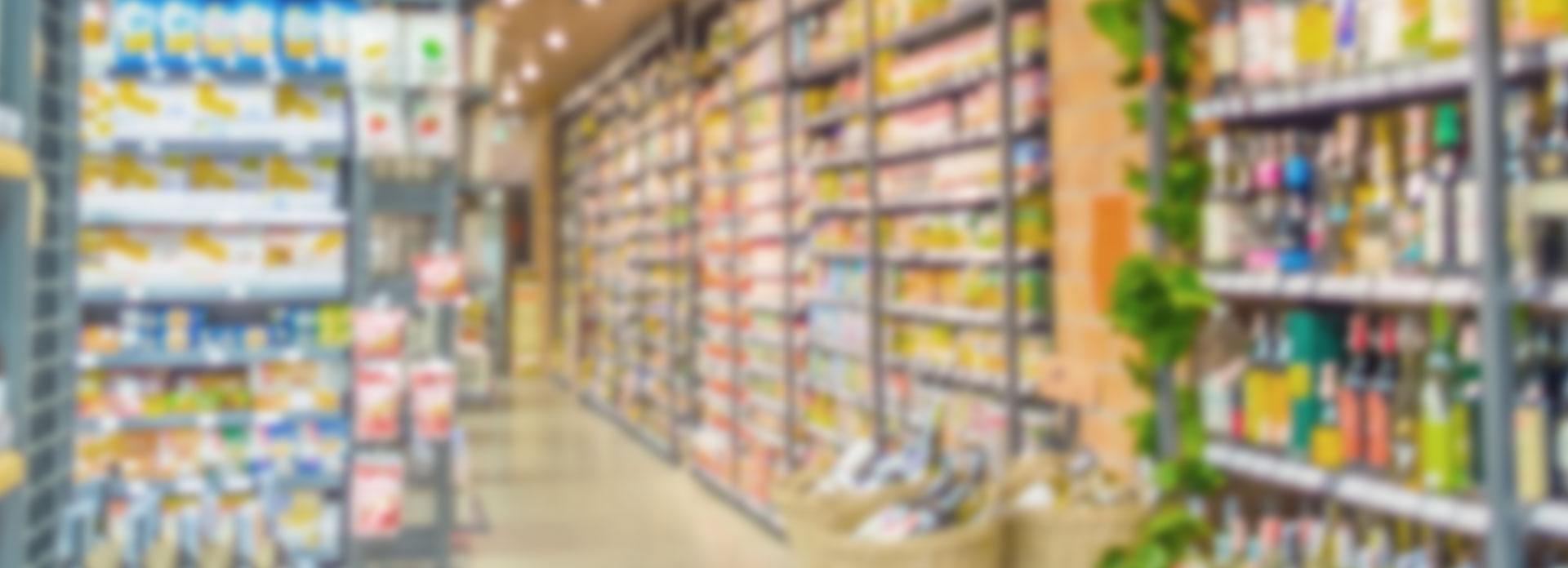 Grocery snack food supermarket labels color label printers from Afinia Label