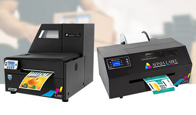 Digital color label printers for businesses, print shops