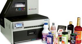 Impresoras de etiquetas digital L801