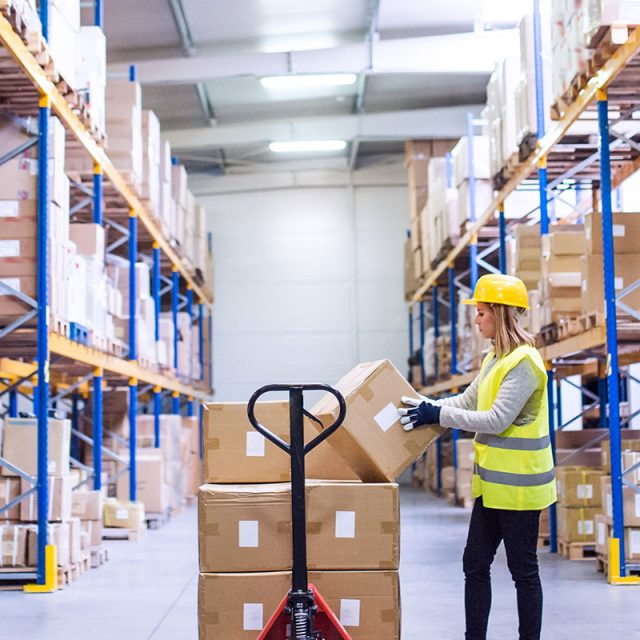 Warehouse distribution & logistics label printers from Afinia Label
