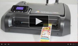 L301 Color Label Printer Video