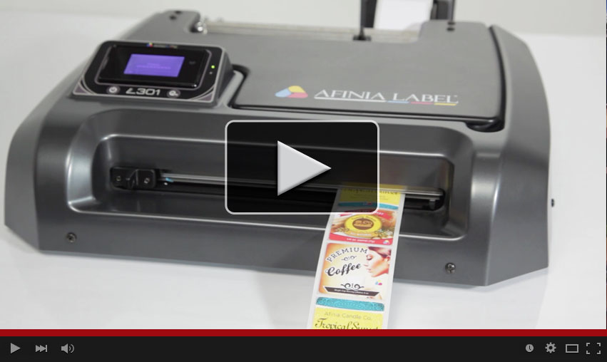 L301 Professional Color Label Printer Video