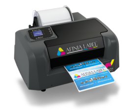 L501 Duo-ink Digital Color Label Printer from Afinia Label