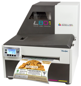 Marijuana Labels printing on an Afinia Label L801