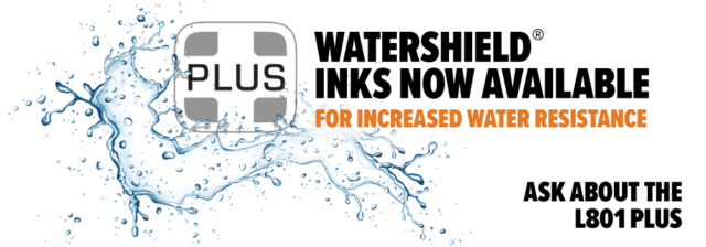 Water resistant inkjet labels with Watershield®