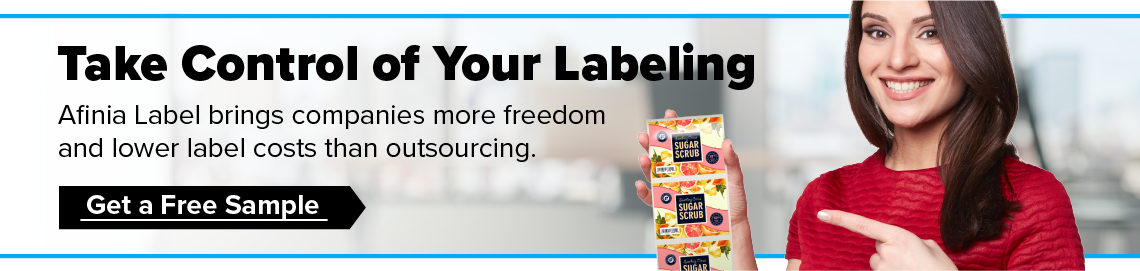 Take control of your labeling - Afinia Label Free sample