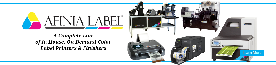 A Complete Line of In-House, On-DemandColor Label Printers & Finishers