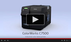 EPSON ColorWorks C7500 Features Video